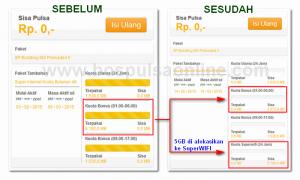 Cek Kuota Indosat Super Internet