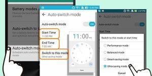 8 Auto-Switch Mode Schedule