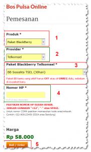 Cara Pesan Paket New BB Sosialita Telkomsel