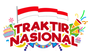 Program Traktir Nasional Telkomsel 21 Tahun