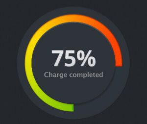 Charging 75%