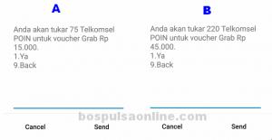 Voucher Grab Telkomsel Poin Nominal Voucher