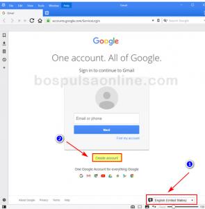 Plih Bahasa Email Gmail Baru (Ingggris)