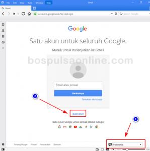 Plih Bahasa Email Gmail Baru (Indonesia)