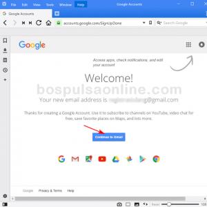 Cara Buat Email GMail Baru (Selamat datang)