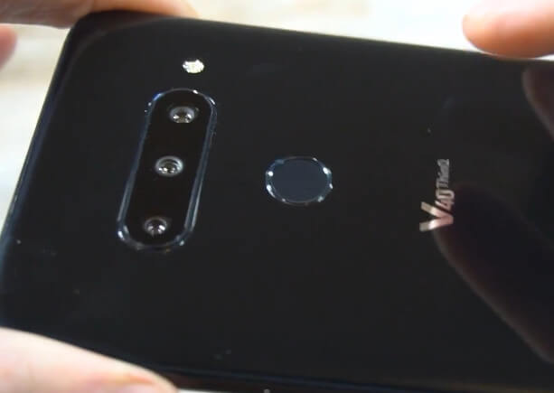 LG V40 Camera Fingerprint Sensor