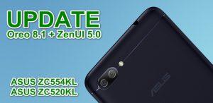 Update Oreo 8.1 ASUS ZC554KL ZC520KL
