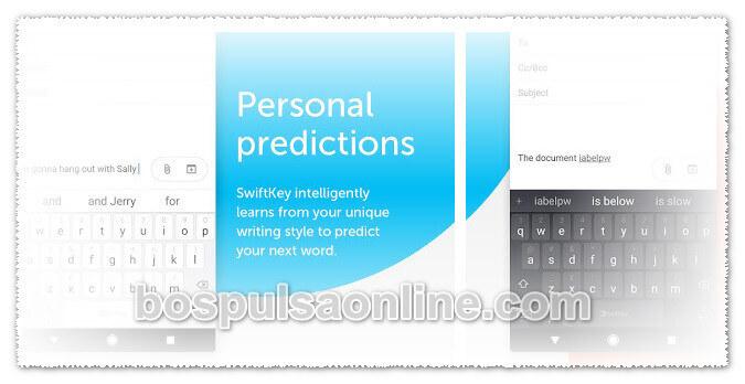 Aplikasi Android Terbaik Swiftkey