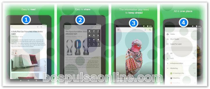 17 Aplikasi Android Terbaik Feedly - Get Smarter