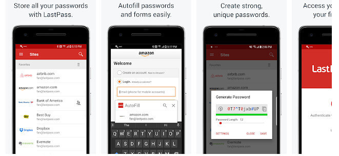 Aplikasi Android Terbaik LastPass Password Manager