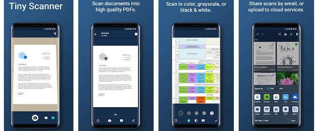 21 Aplikasi Android Terbaik Tiny Scanner - PDF Scanner App