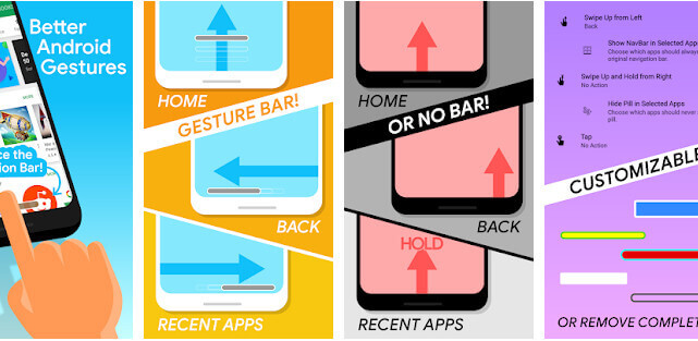 22 Aplikasi Android Terbaik The Best Navigation Gesture Apps Android