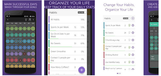 24 Aplikasi Android Terbaik Habit Tracker