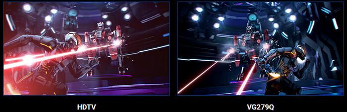 ASUS VG279Q HDTV vs VG279Q