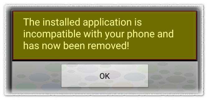 Alert Aplikasi Trojan