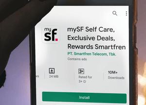 Cara Cek Kuota Smartfren: Aplikasi MySF Feature