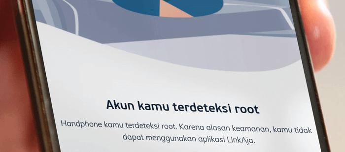LinkAja Mendeteksi Root